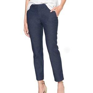 GAP Slim City Stretch Denim Jeans Ankle Cropped 4R